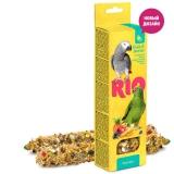 Палочки для попугаев с фруктами и ягодами, 2х90 г