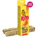 Палочки RIO для канареек с медом и полезными семенами, 2х40 г