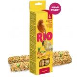 Палочки РИО для канареек с тропическими фруктами, 2х40 г
