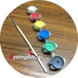 Акриловые краски для покраски кормушек